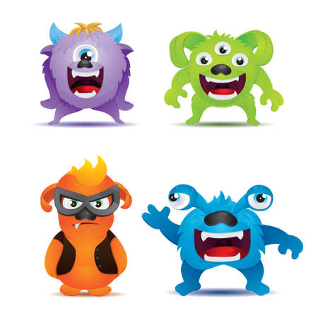 an adorable: Monster Set