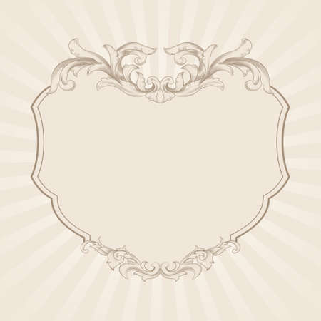 Decorative Frame Vector  Vector