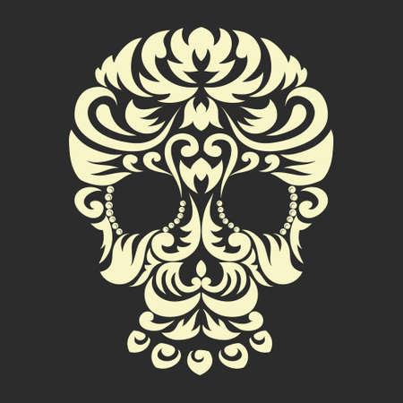 Decoratief Ornament Skull