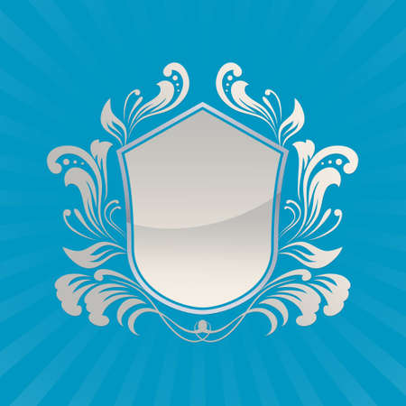 Shield Ornament  Vector