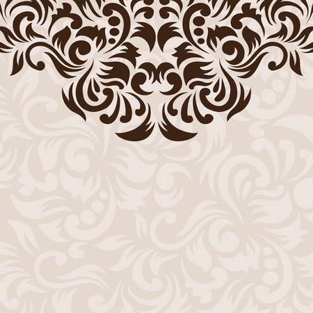 Ornament Background  Stock Vector - 19882448