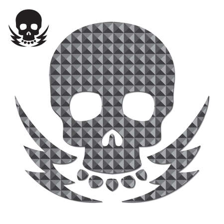 poisonous organism: Skull and Texture