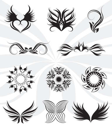 Tribal set  Vector