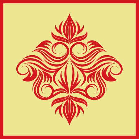 decorative swirl ornament Stock Vector - 20337232