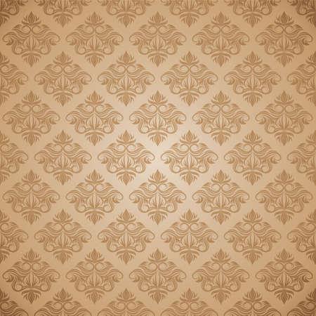 decorative swirl ornament pattern  Illustration