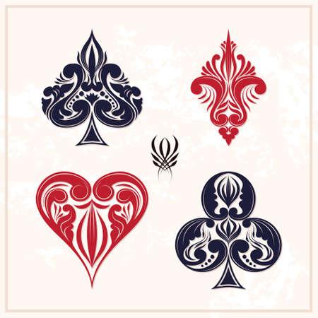 Ornamental Playing Card