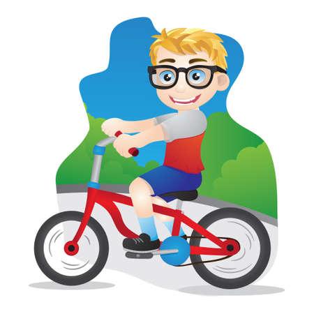 cicla: Bicicletas Niños Vectores