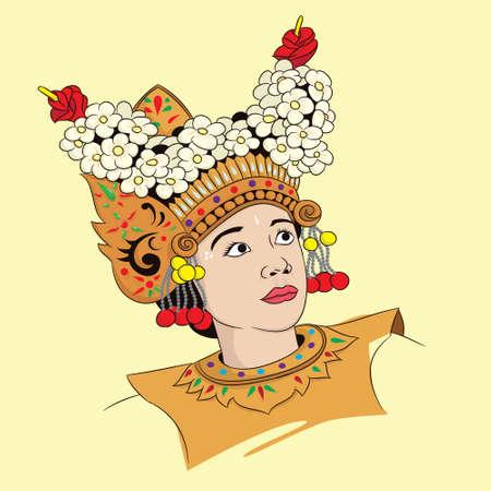 Woman Balinese Dance