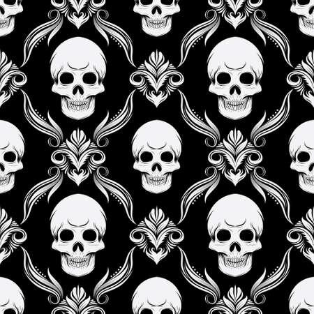 Skull Pattern  Ilustração