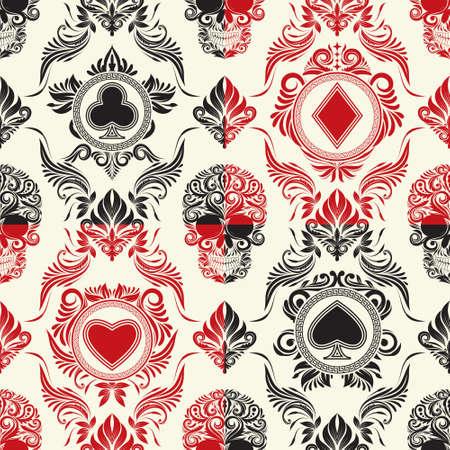 카드 패턴 세트 플레이