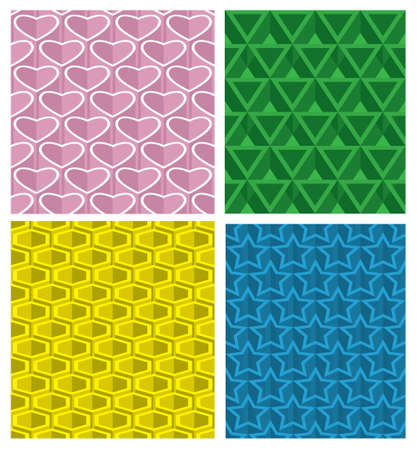 Pattern seamless background  Vector