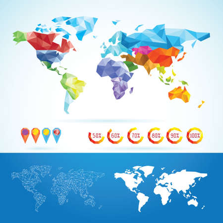 poligonos: Mapa del Mundo