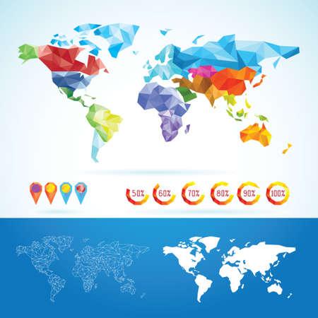 globo: Mappa del mondo