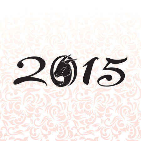 2015 using goat head Vector