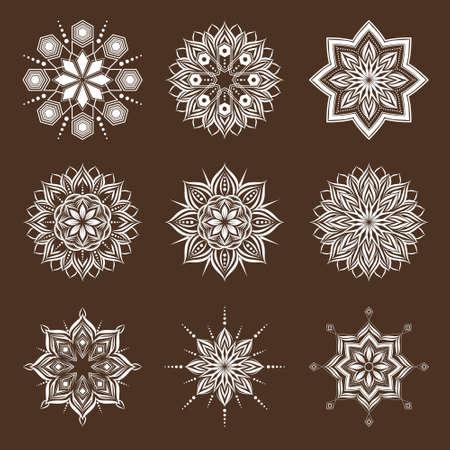 Geometric Ornamental Illustration