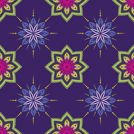 India Geometric Pattern Vector