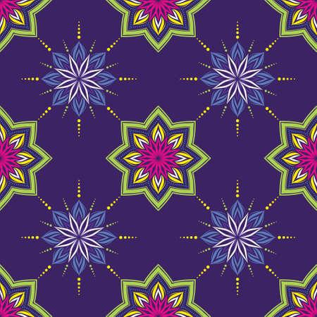 India Geometric Pattern