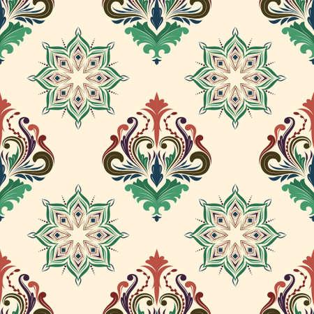 Classic Color Pattern Illustration