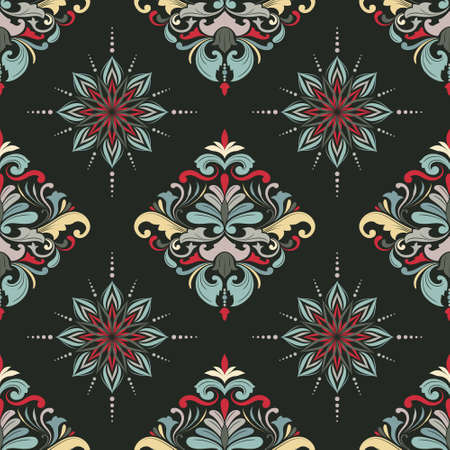 Color March Seamless Pattern