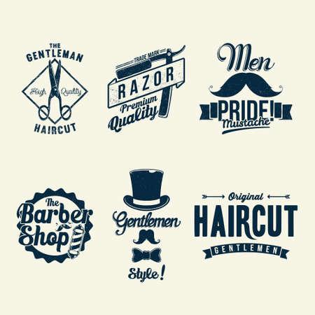 Vintage Barber Shop  Vector
