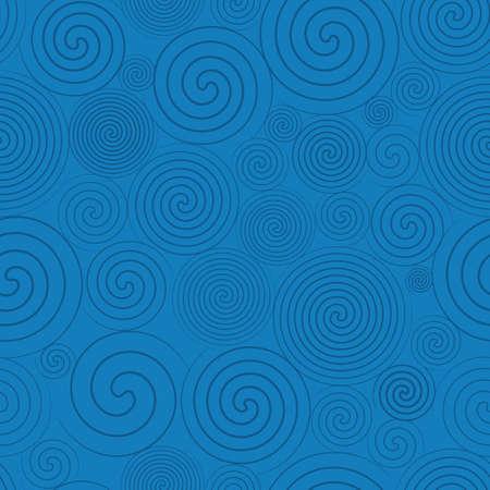 Hemel lijntekeningen patroon Stock Illustratie