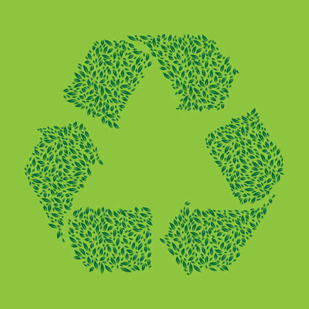Recycle Leaf Green