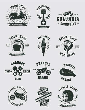 llave de sol: Pin de la motocicleta Colecciones