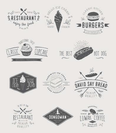 Badges voor voedsel
