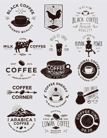 Handgemaakte Coffee Badges Collecties