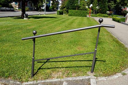 hand rails: Handrail