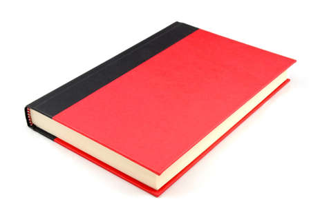 inclined: Isolated Inclined red and black two tone note book