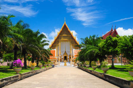 venerate: Buddhism temple in Thailand Stock Photo