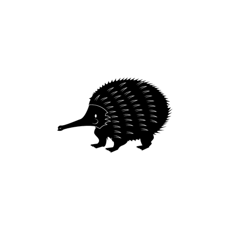 Echidna icon. Elements of the fauna of Australia icon. Premium quality graphic design icon. Baby Signs, outline symbols collection icon for websites, web design, mobile app on white background.