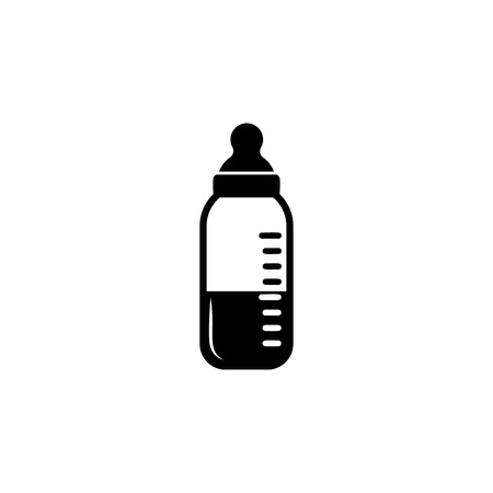 Baby bottle icon. Baby element icon. Premium quality graphic design icon. Signs, outline symbols collection icon for websites, web design, mobile app, info graphics on white background.