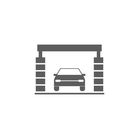 Car wash icon. Ilustracja