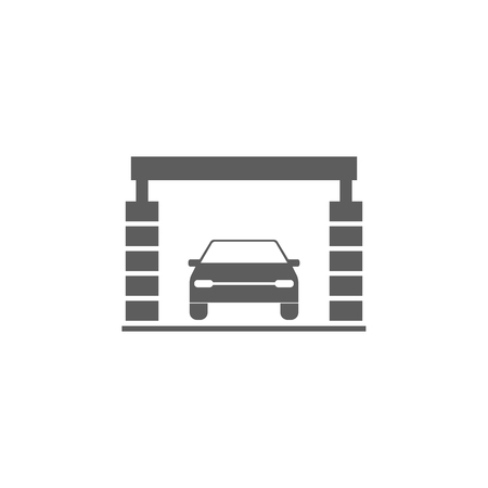 Car wash icon. Illustration