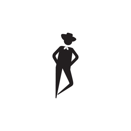 Simple dance teal icon.