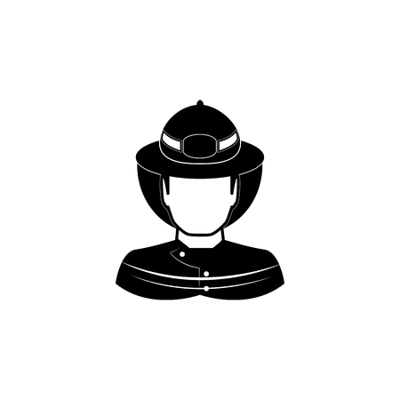 Fireman icon. Fireman element icon. Premium quality graphic design. Signs, outline symbols collection icon for websites, web design, mobile app, info graphics on white background