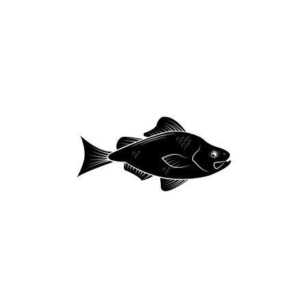 Fish products elements. Premium quality graphic design icon. Vectores