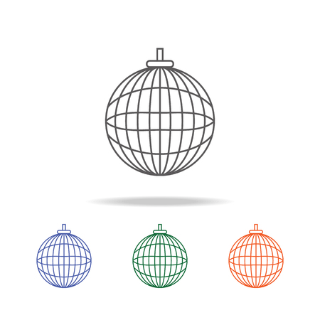 Party ball icon. Element of a party multi colored icon for mobile concept and web apps.