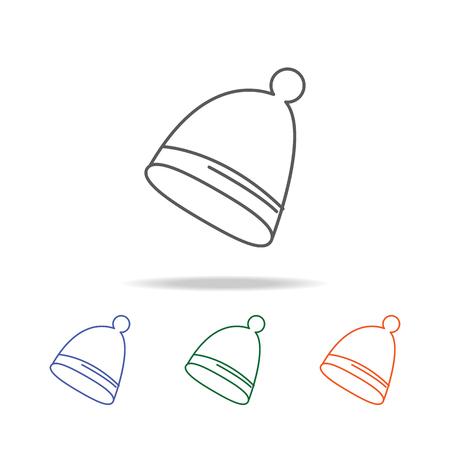 Winter hat icon
