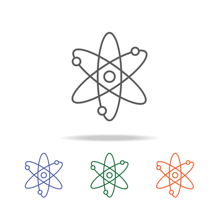 Galaxy icon. Element of a space multi colored icon for mobile concept and web apps. Thin line icon for website design and development, app development. Premium icon on white background Illustration