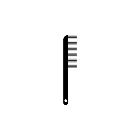 comb icon. Element of barber shop for advertising signs, mobile concept and web apps. Icon for website design and development, app development. Premium icon on white background