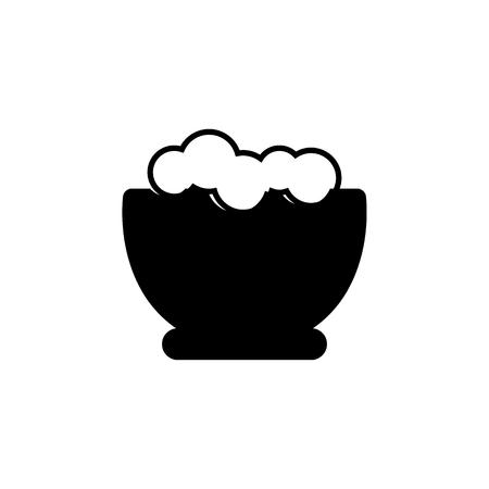 A shaving foam icon.