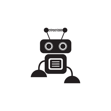 Cute robot icon. Element of robots for advertising signs, mobile concept and web apps. Icon for website design and development, app development. Premium icon on white background