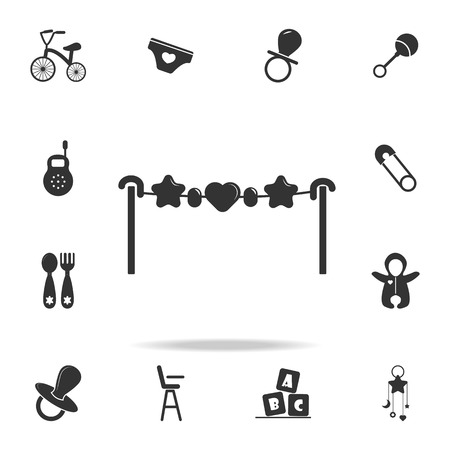 toy over the crib icon. Set of child and baby toys icons. Web Icons Premium quality graphic design. Signs and symbols collection, simple icons for websites, web design on white background