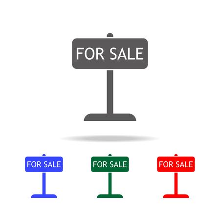 Big Sale Haus Ankündigung über Rotem Hintergrund. Vektor Lizenzfrei ...