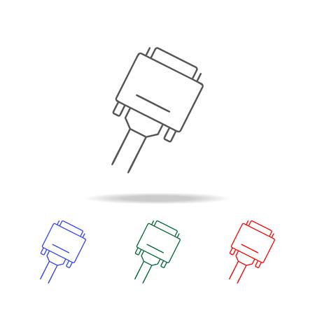 VGA icon set vector illustration Illustration