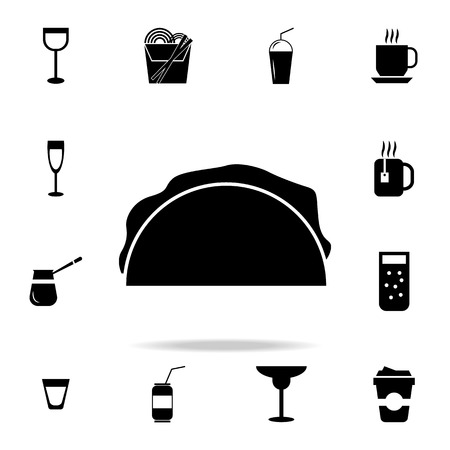 Detailed set of food and drink icons. Premium quality graphic design. One of the collection icons for websites, web design, mobile app on white background Stok Fotoğraf - 96356443