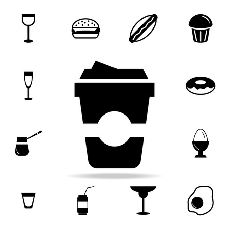 Detailed set of food and drink icons. Premium quality graphic design. One of the collection icons for websites, web design, mobile app on white background